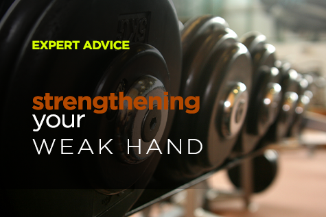 strengthening your weak hand