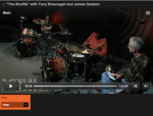 """The Shuffle"" with Tony Braunagel and James Gadson"
