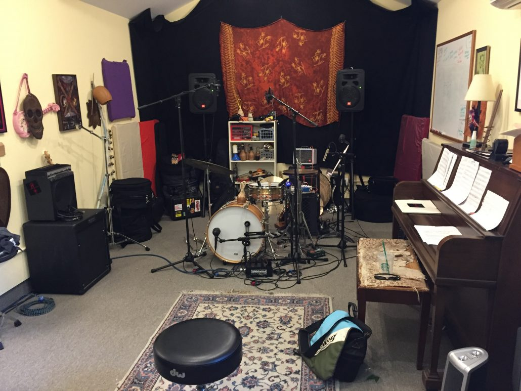 Scott's Studio in Berkley, CA